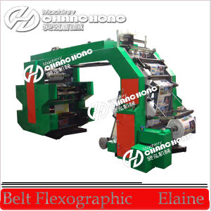 High Speed 6 Colour Paper Roll to Roll Flexo Printing Machine (CE) pictures & photos