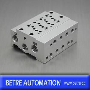 High Quality SMC Type Ss5y3-41-04 Valve Manifold Block