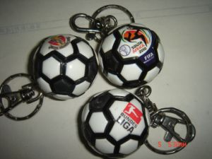 Soccer Key Ring