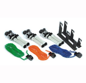 3 Roller Manual Background Support System