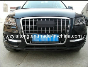 ABS Plastic Chrome OE High Power Super Bright DRL Suitable Used for Audi Q5, LED Daytime Running Light Lamp