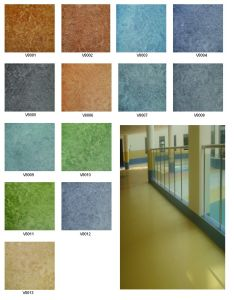 vinyl flooring roll ( commercial using) pictures & photos