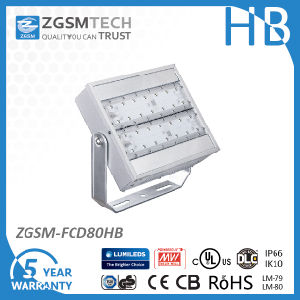 40 to 480W High Lumen LED Floodlight with 85V to 480VAC for Outdoor Stadium Square pictures & photos