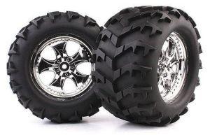1/8 Monster Truck Tire (Cutter /Fangs) (WC1006)