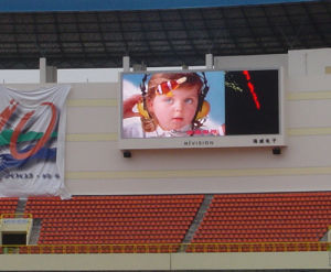 Outdoor LED Screen Fo Football Square