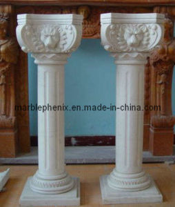 Marble Column /Column Stone Column/ Marble Pillar pictures & photos