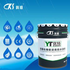 Environment Friendly Spray-Applied Quick-Cured Rubberized Bitumen Waterproof Coating pictures & photos