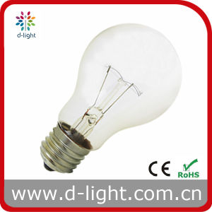 A60 A19 Professional 75W 100W High Power Incadescent Bulb pictures & photos