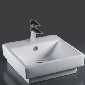 Unique Porcelain Bathroom Vessel Sink (6501) pictures & photos