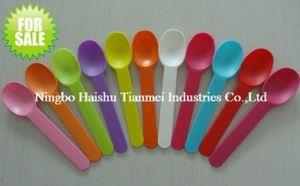 15cm PP Plastic Ice Cream Spoon pictures & photos
