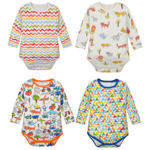 New Lovely Pure Cotton Soft Comfortable Baby Romper pictures & photos