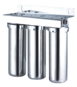 Stainless Steel 3 Stage Undersink Water Filter pictures & photos