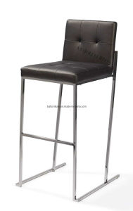 Stainless Steel Bar Stool / Leather Bar Stool (BS002)