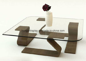Coffee Table with Wooden Leg, Tea Table pictures & photos