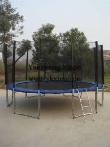 16ft Bungee Jumping Trampoline with Enclosure