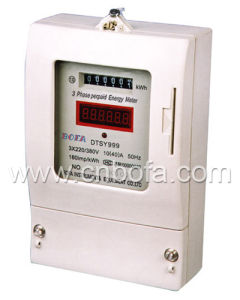 Three Phase Prepaid Energy Meter Type (DTSY999)