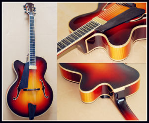 Hot Selling High Quality Left-Hand Jazz Guitar