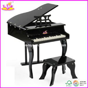 Children Solid Wood Piano with Stool, for Age 3+ (W07C014) pictures & photos