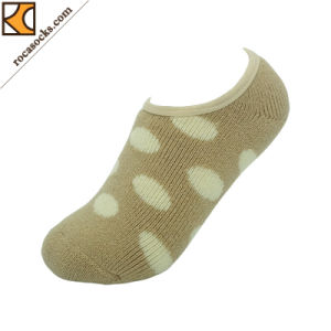 Invisible Boat Acrylic DOT Cushioned Socks for Women (162039SK) pictures & photos
