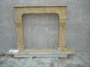 Old Marble Carving Fireplace pictures & photos