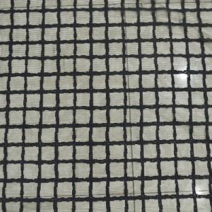 Black Color Mesh Nylon Fabric Lace for Garment 0024 pictures & photos