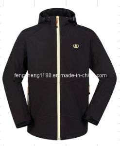 Man Waterproof / Breathable Softshell Sport Jacket