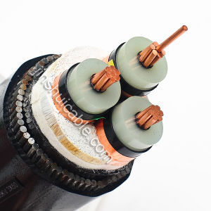 11kv Al/XLPE/Swa/PVC Power Cable 3X50mm2 pictures & photos