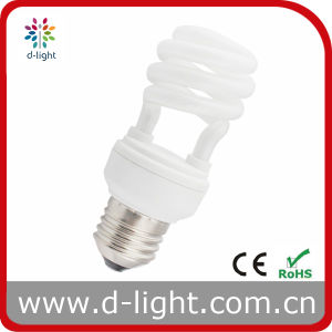 Super Mini Energy Saving Half Spiral Light Bulb pictures & photos