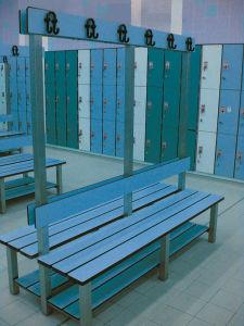 Sauna Lockers Bench Chair