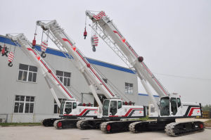 Telescopic-Boom Crawler Cranes
