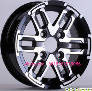 Auto Parts 12*6j 12*7.5j 4*110 Car Aluminum Alloy Wheels pictures & photos