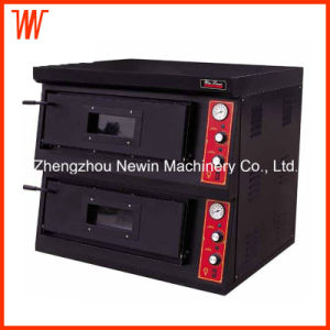 LPG Natural Gas Pizza Oven Double Deck pictures & photos