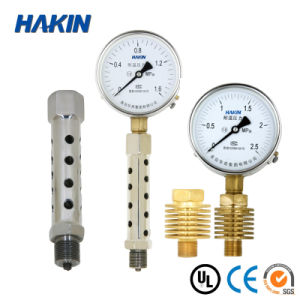 Gas Pressure Temperature Gauge Bimetallic Thermometer