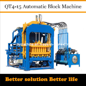 Cement Block Machine Price in India Qt4-15 Dongyue pictures & photos