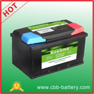 Sealed Maintenance Free Car Battery -DIN 57220-12V72ah pictures & photos