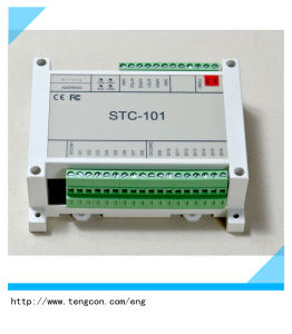 16 Digital Input Expandable Io Module Stc-101 with RS485/232 Modbus RTU pictures & photos