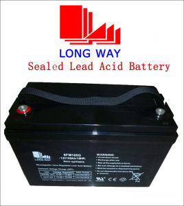 Deep Cycles Series Rechargeable Lead-Acid Battery 12V100ah pictures & photos