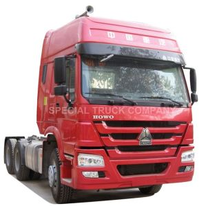 HOWO 6X4 Tractor Truck for Semi Trailer and Container (ZZ4257N3241V) pictures & photos
