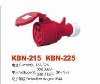 Industrial Plugs and Sockets (KBN-215)