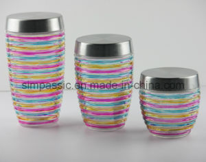 3PCS Storage Jar Set (SG1405SJ) pictures & photos