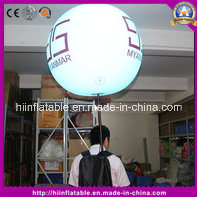Amazing, Best-Selling Party Decoration Inflatable Backpack Ball with LED Light pictures & photos