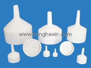 White Plastic Funnel with ISO SGS pictures & photos