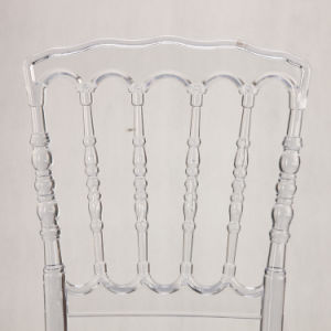 Transparent PP Napoleon Chair for Wedding and Event pictures & photos