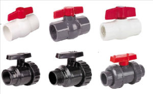 PVC Ball Valve Thread/Socket Type for Irrigation