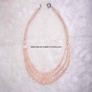Semi Precious Stone Fashion Gemstone Crystal Necklace (ESB01376) pictures & photos