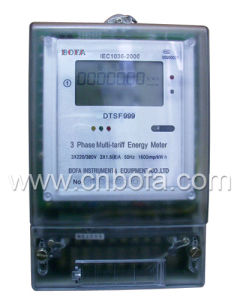 Three Phase Multi-tariff Energy Meter Type (DTSF999)
