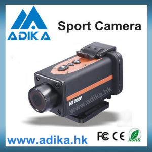 1080p Waterproof Wide Angle Helmet Camera with 1.5′′ TFT LCD Screen (ADK-S802)