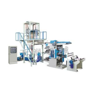 PE Film Blowing and Flexographic Printing Machine Line pictures & photos