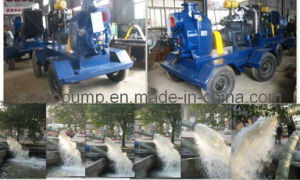 Self-Priming Diesel Water Pump Set pictures & photos