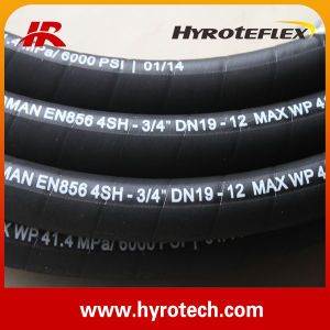 Highly Competitive! ! Hydraulic Hose DIN En 856 4sh/Rubber Oil Hose From Factory pictures & photos